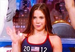 Mckayla Maroney, McKayla Maroney Not Impressed Wave Colbert Report GIFs