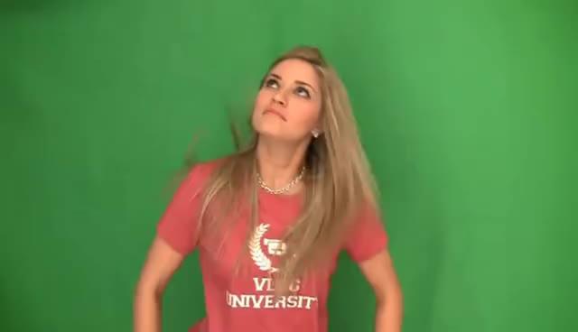 dancing, girl, ijustine, weird, weird chick danicng GIFs
