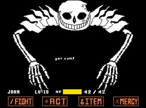 Watch and share Undertale - Ultra-Sans Fight (Fan-made) GIFs on Gfycat