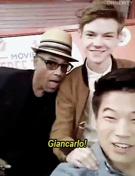 Watch and share Giancarlo Esposito GIFs and Dylan O'brien GIFs on Gfycat
