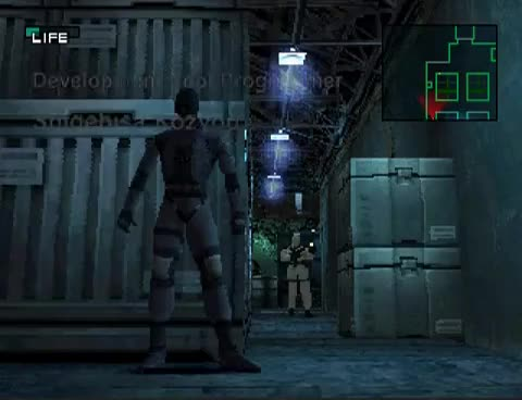 Watch Metal Gear Solid - Getting Caught GIF on Gfycat. Discover more Exclamation, MGS, Snake, alert, camstudio, caught, epsxe, evasion, gear, metal, point, ps1, psx, solid GIFs on Gfycat