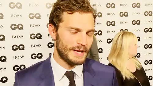 Watch and share Jamie Dornan GIFs and Award Show GIFs on Gfycat
