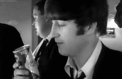 Watch The Best Of The Beatles GIF on Gfycat. Discover more Coca Cola, Fans, Guitar, Help!, I Love you, Imagine, John Lennon, Lennon, Love of John, Poker, The Beatles, Travel GIFs on Gfycat