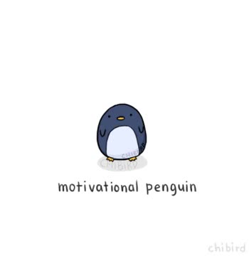 Watch motivational penguin GIF by Elaine Cheng (@elainecheng) on Gfycat. Discover more animation, motivational, penguin GIFs on Gfycat