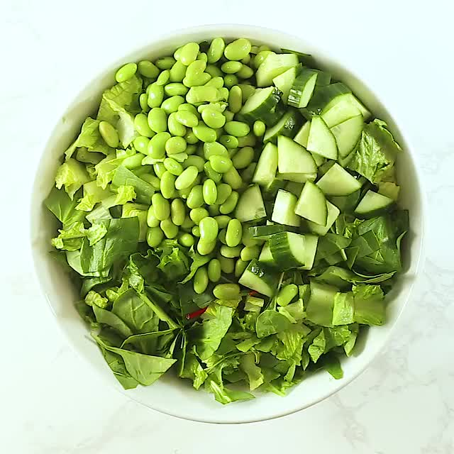 Watch and share The Greenest Chopped Salad! GIFs by sydbobyd on Gfycat