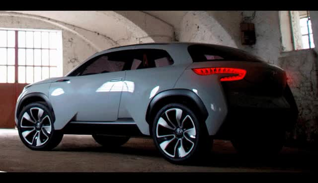 Watch and share INTRADO Concept SUV -- Hyundai Showing Interesting, Fresh And Tech-Infused Style In Geneva GIFs on Gfycat