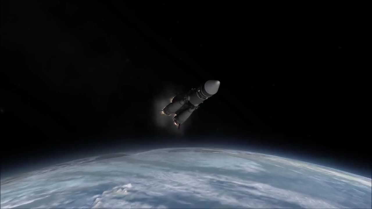 KSP, Kerbal, Russia, cross, epic, korolev, program, r-7, space, spacecraft, stock, KSP Stock Korolev Cross GIFs