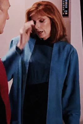 Watch and share Beverly Crusher GIFs and Gates Mcfadden GIFs by Basque Buddha on Gfycat