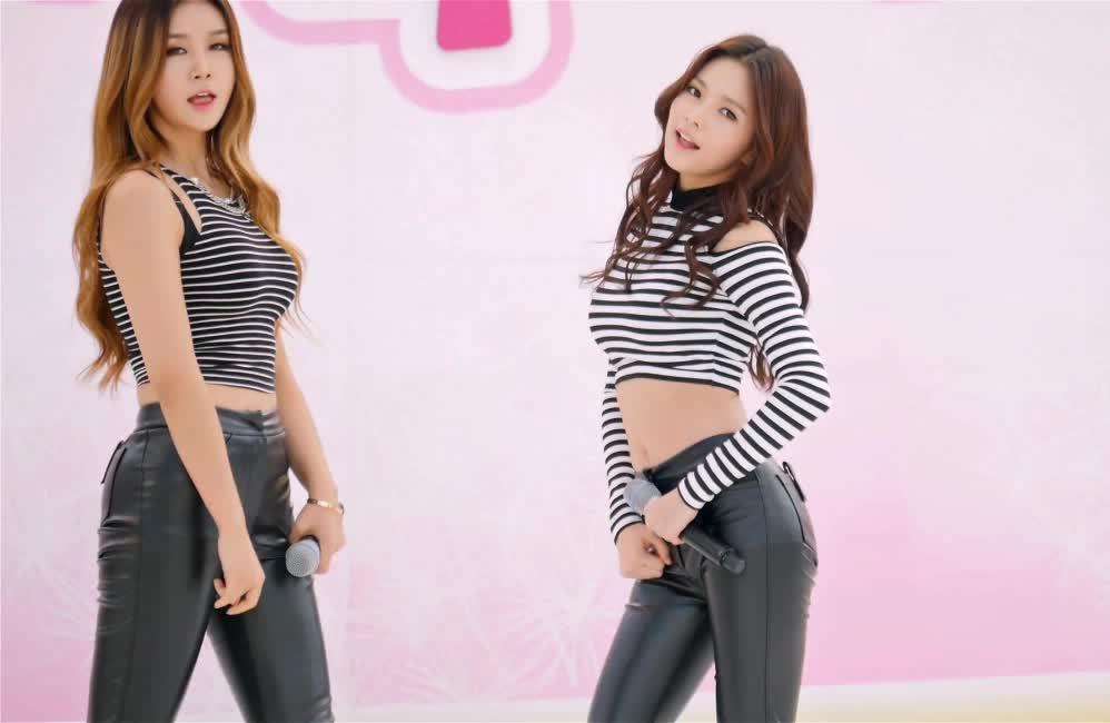 kpics, Fiestar - Cao Lu & Jei 141012 GIFs
