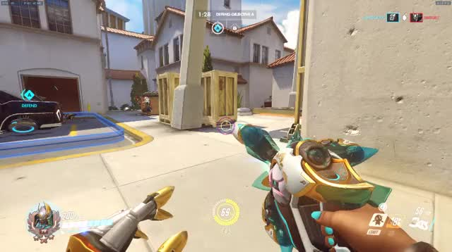 Watch and share Overwatch GIFs and Symmetra GIFs by gasoline on Gfycat