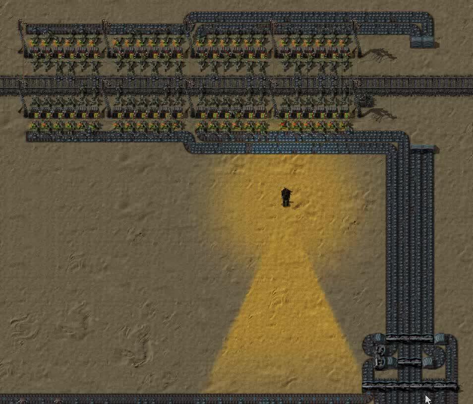 Factorio, Loading Iron ore GIFs