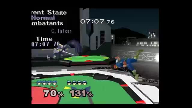Watch and share Marth V Falcon Edgeguard GIFs on Gfycat