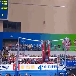 Watch and share Uneven Bar Finalist GIFs and Rebecca Downie GIFs on Gfycat