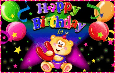 Watch and share Teddybear GIFs and Birthday GIFs on Gfycat