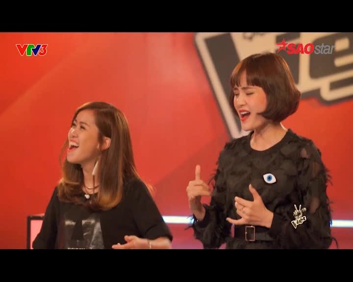 Cố vấn Diva Mỹ Linh sung không thể tưởng khi huấn luyện học trò team Tóc Tiên ảnh 5