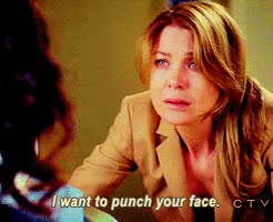 Watch and share Ellen Pompeo GIFs and Punch GIFs on Gfycat