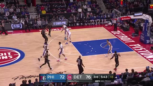 Watch and share Detroit Pistons GIFs and Basketball GIFs by Ben Mallis on Gfycat