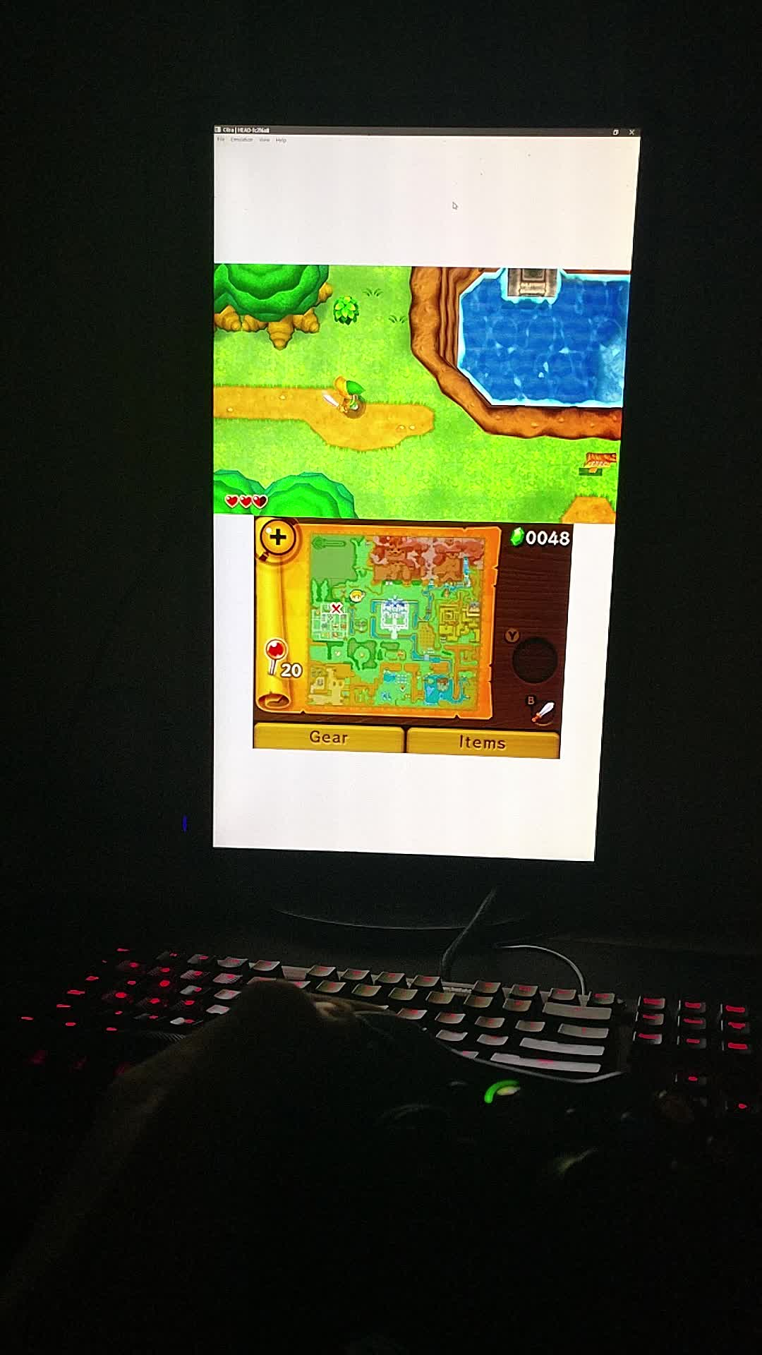 pcmasterrace, Playing a 3DS Game with a Wireless Xbox 360 controller in 60fps - The Power of PC (reddit) GIFs