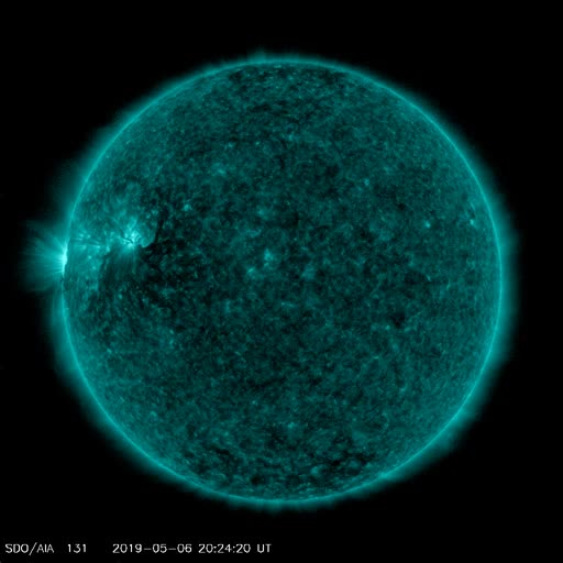 Watch and share NASA SDO AIA 131 Synoptic GIFs by The Watchers on Gfycat