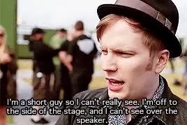 Watch and share Patrick Stump GIFs and Brendon Urie GIFs on Gfycat