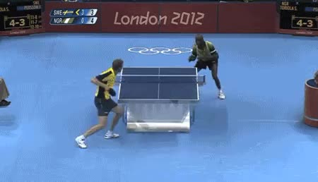 Watch olympic ping pong GIF on Gfycat. Discover more related GIFs on Gfycat