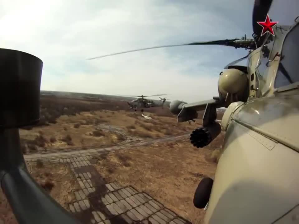 militarygfys, Mi-28 formation GIFs