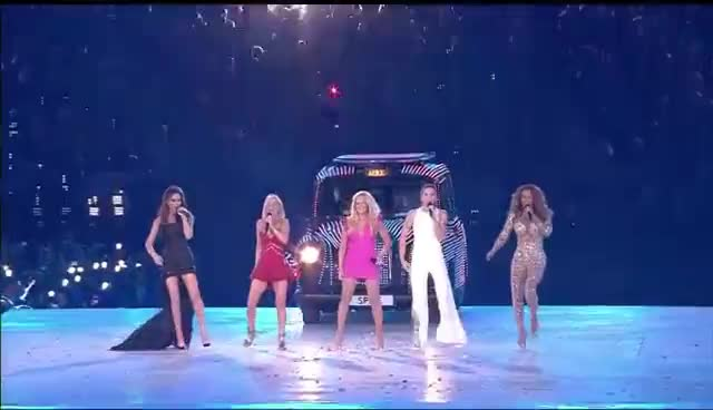 Girls, Olympics, Spice, girls, music, olympics, spice, victoria beckham, Spice Girls GIFs