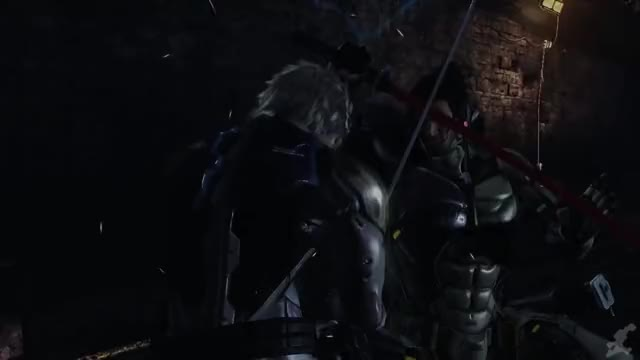 Watch and share Metal Gear Rising GIFs and Sam GIFs by Satanboss on Gfycat