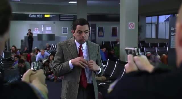Watch and share Rowan Atkinson GIFs and Mr Bean GIFs by revwaldo1 on Gfycat