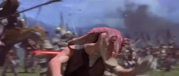 Watch and share Darthjarjar GIFs and Starwars GIFs on Gfycat
