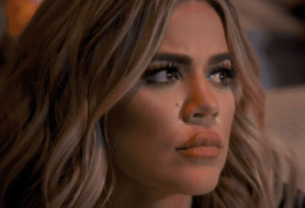 angry, confused, god, kardashian, khloé, kuwtk, mad, my, oh, omg, pissed, surprise, wait, what, wtf, Khloe Karadashian - WTF GIFs