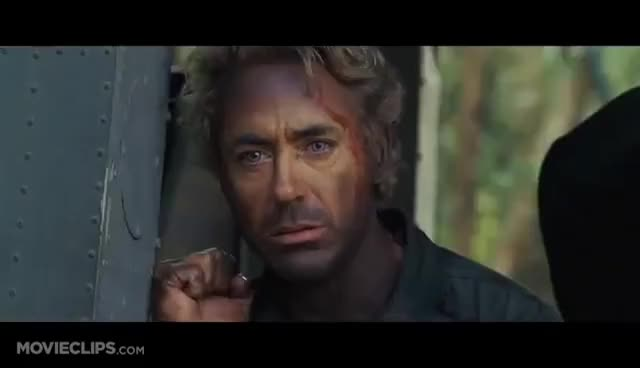 Watch and share Tropic Thunder GIFs and Kirk Lazarus GIFs on Gfycat
