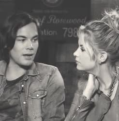 Watch 2011 // 2013 GIF on Gfycat. Discover more Haleb, It's amazing that just by watching these two videos, Tyshley, ashley benson, benzburn, caleb river, hanna marin, mine, tyler blackburn, tyshley, you can tell how much closer they are now GIFs on Gfycat