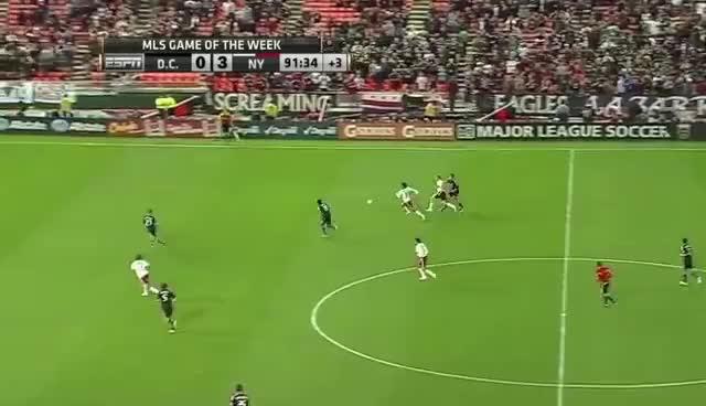 dc united, juan agudelo, mls, nyrb, rbny, red bulls, soccer, Juan Agudelo Goal vs DC United GIFs