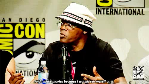 Watch and share Samuel L Jackson GIFs and Sdcc 2014 GIFs on Gfycat