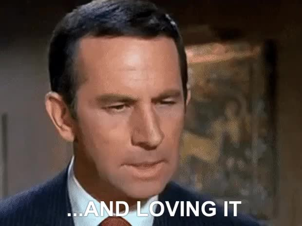 Watch Get Smart Don Adams Maxwell Smart - And loving it [360p] - S GIF on Gfycat. Discover more related GIFs on Gfycat