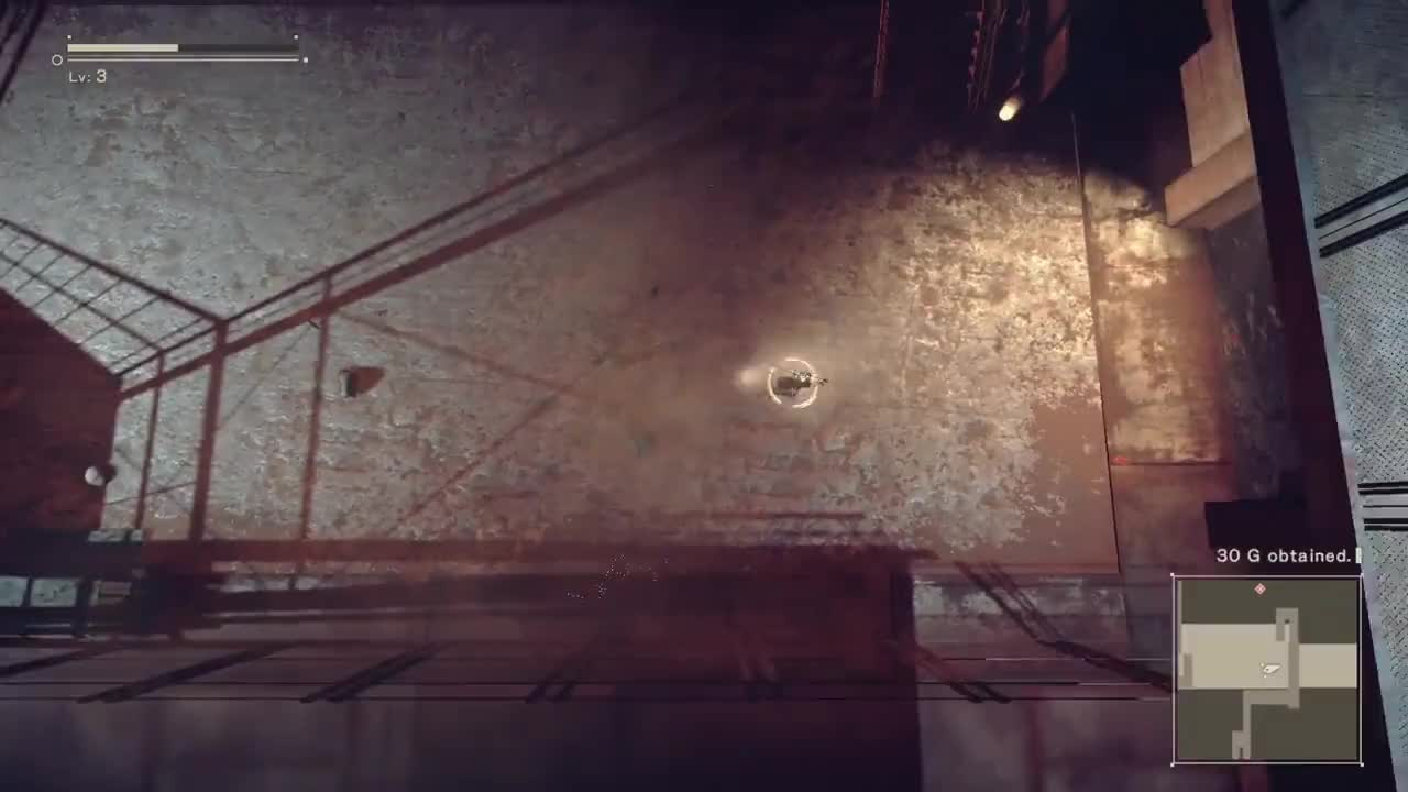 PS4Share, NieR:Automata isometric to fixed GIFs