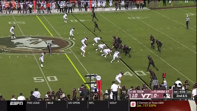 Watch and share Florida State GIFs and Virginia Tech GIFs by jawhar on Gfycat