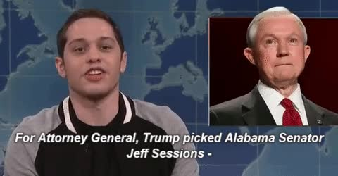 Watch this pete davidson GIF on Gfycat. Discover more jeff sessions, pete davidson GIFs on Gfycat