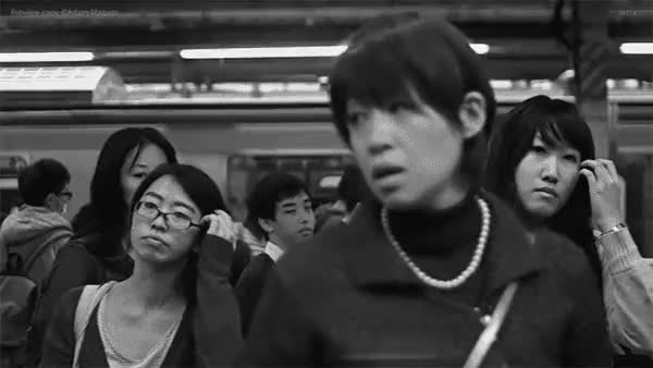 Watch and share Tokyo Subway GIFs on Gfycat