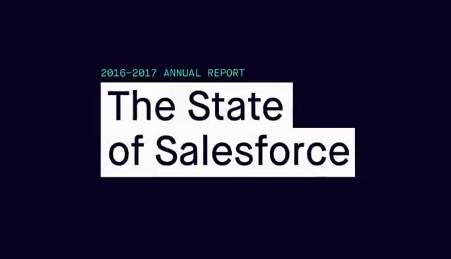 Watch The State of Salesforce 2016-2017 GIF on Gfycat. Discover more related GIFs on Gfycat