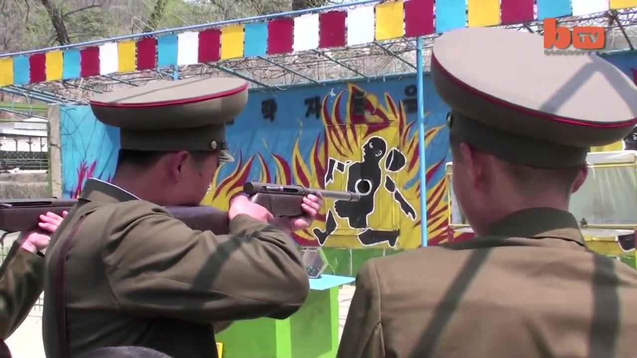 militarygfys, NK troops at the range... GIFs