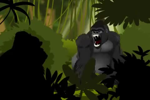 Watch and share Angry Gorilla Flash Animation GIFs on Gfycat