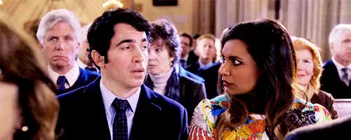 Watch grace. GIF on Gfycat. Discover more *, confessions of a cathoholic, danny and mindy in church, danny castellano, gif request, mindy lahiri, the mindy project, tmpedit GIFs on Gfycat