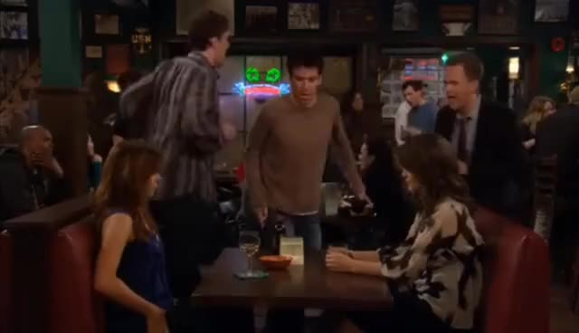 Watch and share Marshall GIFs and Barney GIFs on Gfycat