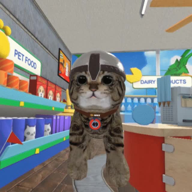 Watch and share Virtual Reality GIFs and Cute Animal GIFs by FusionPlay on Gfycat