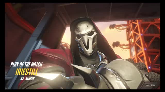Watch Reaper Pentakill GIF by @gottagofast on Gfycat. Discover more overwatch, reaper GIFs on Gfycat