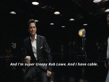 Watch super creepy Rob Lowe GIF on Gfycat. Discover more related GIFs on Gfycat