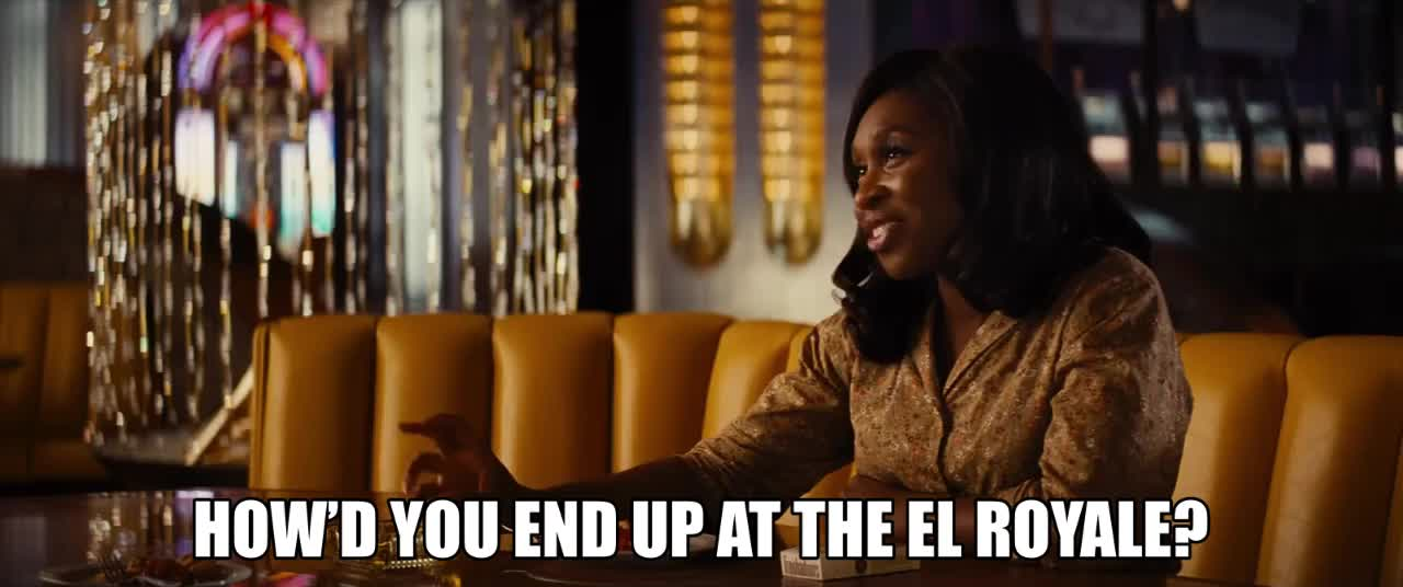 bad times at the el royale, celebrity, celebs, jeff bridges, Overbooked rooms GIFs
