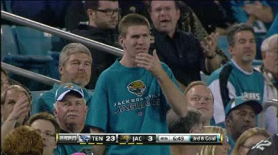Watch and share Confused-jaguars-fan GIFs on Gfycat